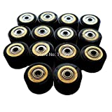 FINCOS Pack of 10 Pinch Roller for Roland Vinyl Plotter Cutter 31116mm Electronic Cutting Machines Cutting Plotter Wheel Bearing New