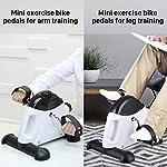 EVOLAND-Mini-Cyclette-da-Casa-Esercitatori-Pedaliera-Cyclette-Fitness-per-Braccia-e-Gambe-Pedaliera-Regolabile-Digitale-Mani-e-Piedi-Pedale-con-LCD-Display