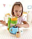 Hape Kids Coffee Maker Wooden Play Kitchen Set with Accessories