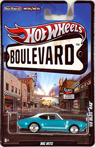 Hot Wheels Boulevard Big Hits '68 Olds 442 Teal/White Roof ()