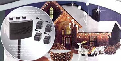 pro line ge wireless lights sounds of christmas musical light show