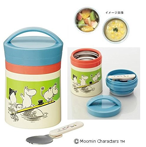 pos.265044 Moomin ( Moomin palette ) Cooler Delica pot 300ml LJF3 by Skater by Skater