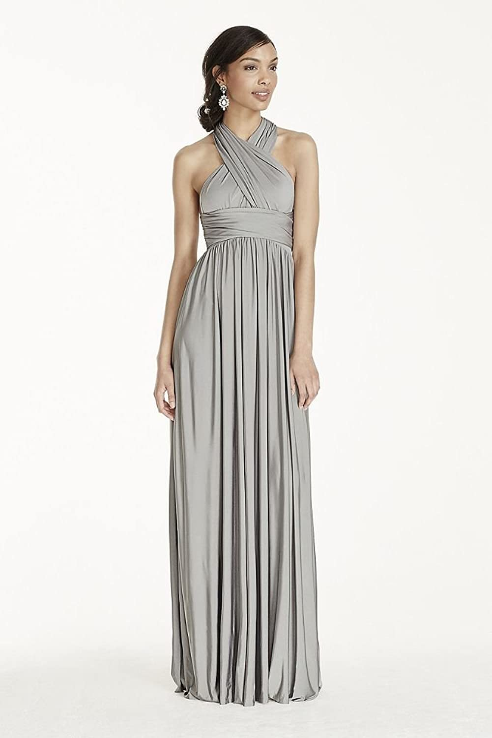 Versa convertible long jersey bridesmaid dress style w10502 at versa convertible long jersey bridesmaid dress style w10502 at amazon womens clothing store ombrellifo Image collections