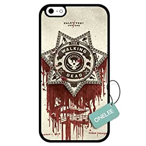Onelee(TM) - Customized The Walking Dead Design TPU Case Cover for Apple iPhone 6 - Black 07