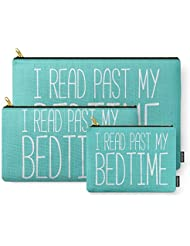 Society6 I Read Past My Bedtime. Carry-All Pouch
