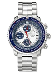 Seiko Men's SNA413 Flight Computer Chronograph Watch