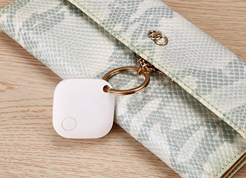 Best Key Finder, Cell Phone Locator, Dog Tracker & Car Finder, Includes Replaceable Battery & Anti-Lost Alarm Feature, Find Your Belongings w/ Great Vibez Smart Finder Bluetooth Tracking Device!