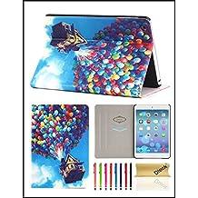 iPad Mini 1/2/3 Case, Dteck(TM) Ultra Slim PU Leather Flip Smart Stand Case Cover with [Auto Wake/Sleep] for Apple iPad Mini 3/ 2/ 1 (Balloon)