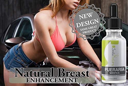 Pueraria Mirifica Serum. Natural Breast Enhancement. Truly the Best Natural Breast Lifting Anti-sagging Product - 100% Money Back Guarantee (1 fl.oz)