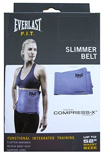 Everlast F.i.t Slimmer Belt up to 52'' waist size (Purple) by Everlast