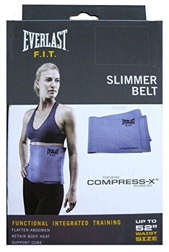 Everlast F.i.t Slimmer Belt up to 52'' waist size (Purple) by Everlast