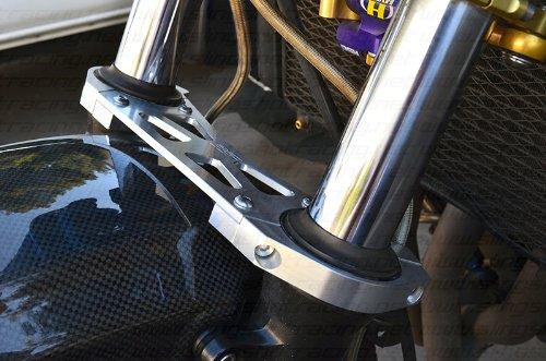 Blue Kawasaki ZRX 1200 ZRX1200 ZRX1200R ZZR1200 FRONT Fork Suspension Brace Stabilizer