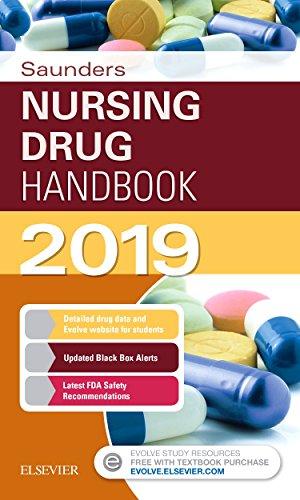 Saunders Nursing Drug Handbook 2019