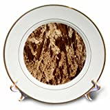 3dRose TDSwhite – Rock Photos - Natural Rock Surface - 8 inch Porcelain Plate (cp_281902_1)