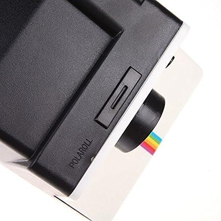 Ducomi® - Polaroll - Distributeur pour rouleaux de papier toilette style  vintage en forme d appareil photo Polaroid des années 80   donnez un look  rétro à ... 168824540b6a