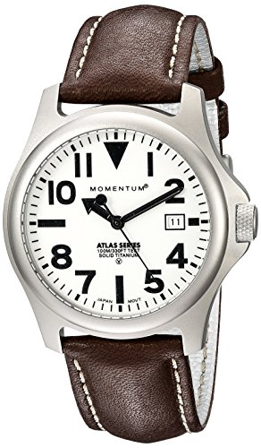 Momentum Men's 1M-SP00W2C Atlas Analog Display Japanese Quartz Brown Watch