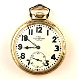 Ball Illinois Pocket Watch, Ultra Rare Railroad Fancy Case, 16s, 23 Jewel B802226