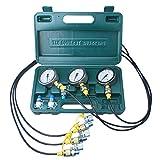 DUSICHIN DUS-800 Excavator Hydraulic Pressure Test Kit, Hydraulic Tester, Pressure Test Guage Coupling 8000 PSI
