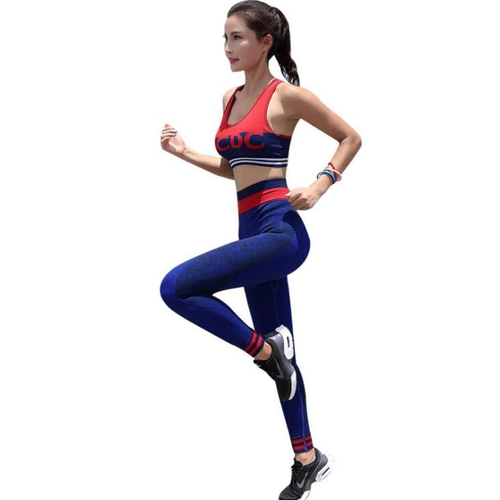 L  ADPTT Yoga VêteHommests De Sport Randonnée Costume De Sport EntraîneHommest Costume en Tissu Exercice Pantalon