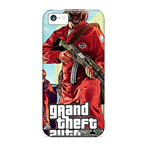 Cynthaskey Snap On Hard Case Cover Gta 5 Pest Control Protector For Iphone 5c by icecream design