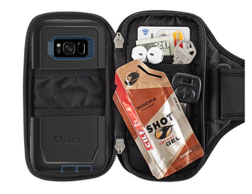 Sporteer Entropy E8 Modular Armband for iPhone 8 Plus, 7 Plus, Galaxy Note 8, Galaxy S8, S8 Plus, Pixel XL, LG G6, LG V30, Moto X4, G5S Plus, Nexus 6P, Xperia XZ, and Other Phones/Cases (M/L Straps) by Sporteer (Image #3)