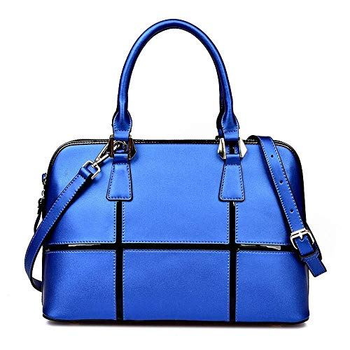Lady A Handbag Bag Shell Bag Cowhide Hongge Female Leather Baotou Layer Woman Stitching Fashion wX4xSOqI