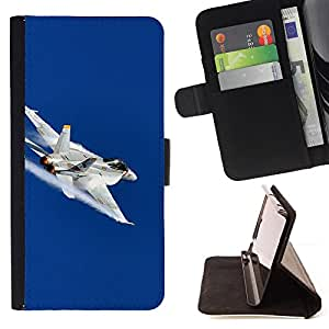 DEVIL CASE - FOR LG G2 D800 - FA fighter - Style PU Leather Case Wallet Flip Stand Flap Closure Cover