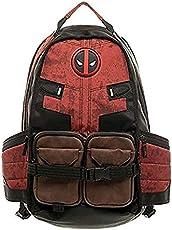 MiaoDuo Marvel Deadpool mochila mochila de deportes al aire libre portátil para niños bolsa de escue