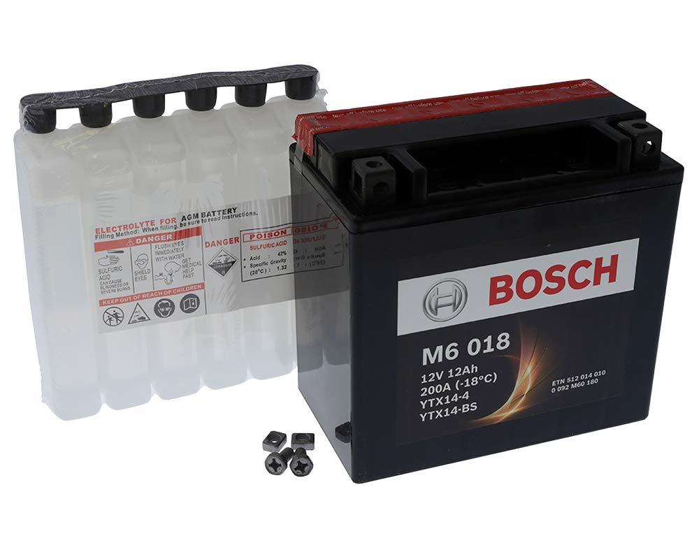 Batteria BOSCH YTX14-BS 12 Volt - Gilera GP 800 M55100 anno 2007-2011