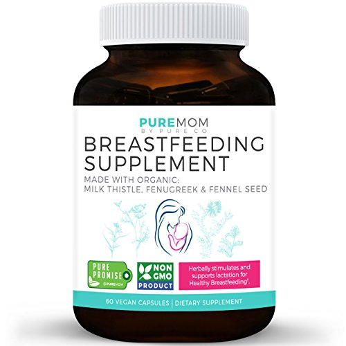 Organic Breastfeeding Supplement - Increase Milk Supply & Herbal Lactation...