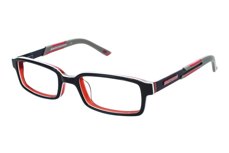 Amazon.com: SKECHERS Eyeglasses SK 1027 Blue Red 44MM: Clothing