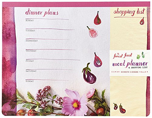 Forest Feast Meal Planner Shopping product image