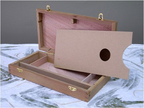 Artist's Sketch Box 12-1/2 inch x 6-1/2 inch x2-/8 inches Art Alternatives