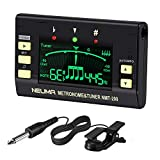 NEUMA Digital Metronome Tuner for Guitar, Bass, Violin, Ukulele, Chromatic and all Instruments