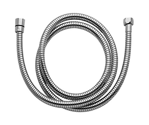 Jaclo 3479-SS SS Stretch Hose, 79'' - 102'', Stainless Steel