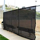 16 X 20' Black Shade Net Mesh Screen Garden Patio RV Nursery Canopy Sun Tarp