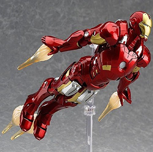 Marvel's The Avengers Iron Man Figma 217 Action Figure Toy Doll Collection Model