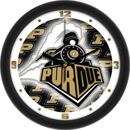 SunTime NCAA Purdue Boilermakers Wall Clock ()