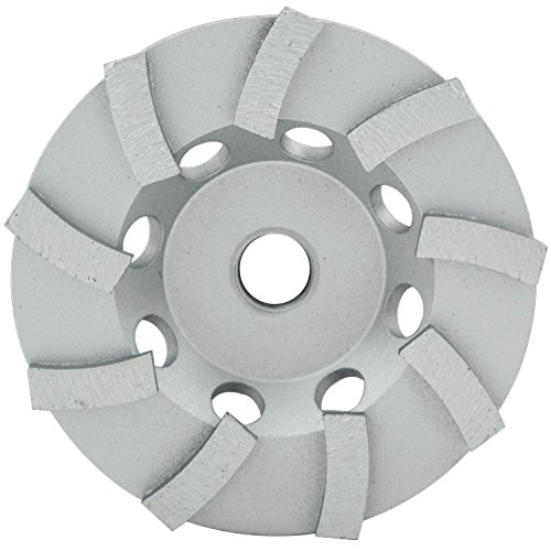 Series Walk Behind Concrete Saw (Lackmond Beast SPP Turbo Segmented Cup Wheel - 7