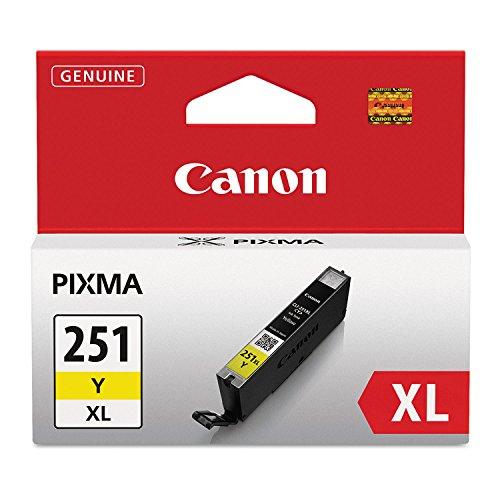 Canon 6451B001 CLI 251XL Yellow product image