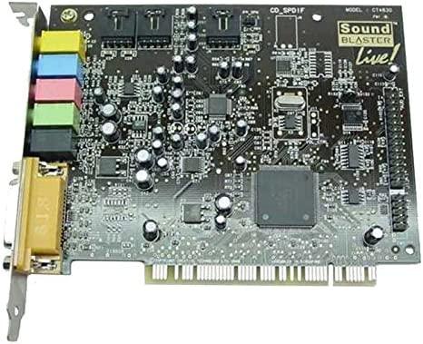 CREATIVE Tarjeta de Sonido Labs ct4780 SoundBlaster Live PCI ...