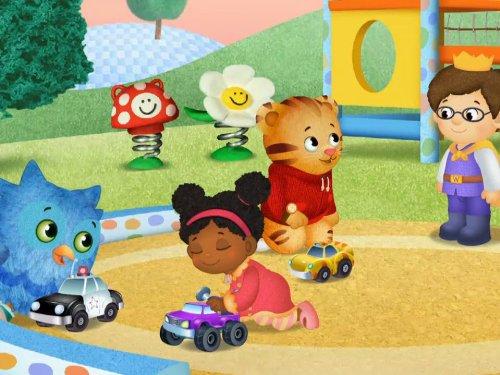 Daniel Shares his Tigertastic Car / Katerina Shares her Tutu -