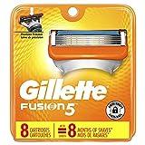 8 Pack Gillette Fusion Power Men's Razor Blade Refill Cartridges
