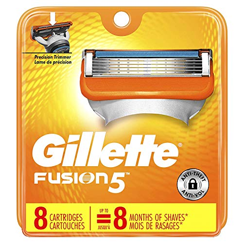 Gillette Fusion 5 Power Cartridges 8 ea