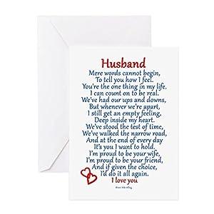 Amazon cafepress husband love greeting card note card cafepress husband love greeting card note card birthday card blank inside glossy m4hsunfo