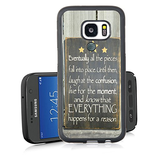 Galaxy S7 Active Case,FTFCASE TPU Back Cover Case for Samsung Galaxy S7  Active - Bible Verses and Know That Everything Happens for a Reason