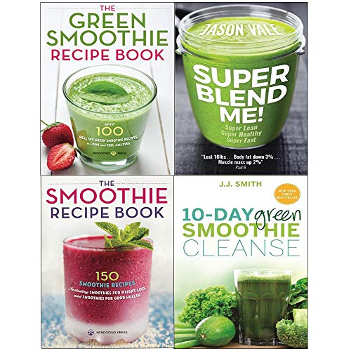 (Super blend me!, 10-day green smoothie cleanse, green smoothie recipe book 4 books collection set)