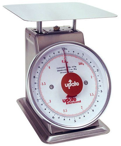 Update International (UPS-840) 40 Lb S/S Shipping and Receiving Scale by Update International