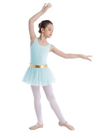 CHICTRY Vestido Tutú de Danza Ballet Maillot para Niñas ...