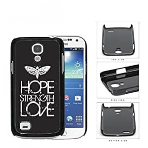 Butterfly Hope Strength Love Eroding Hard Plastic Snap On Cell Phone Case Samsung Galaxy S4 SIV Mini I9190